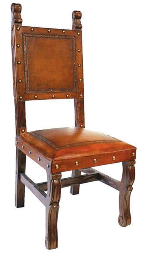 Western Dining Chairs 4 Tooled Leather Chairs In Western Dining Chairs Free Shipping