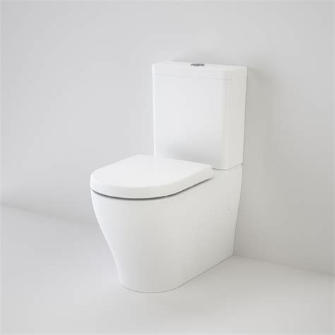 caroma bathroom products caroma luna cleanflush wall faced toilet suite thrifty