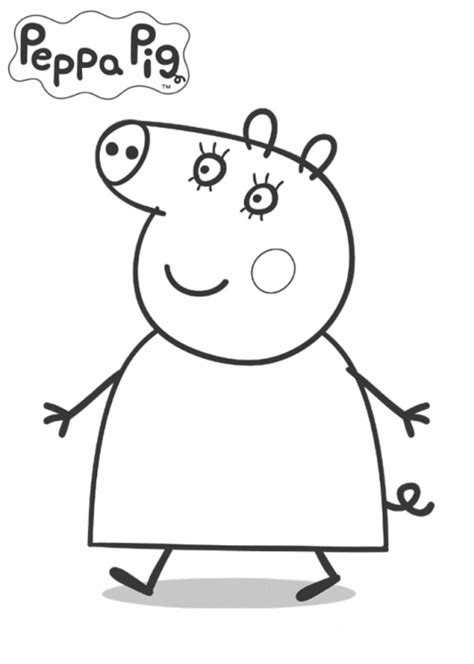 peppa pig coloring pages peppa coloring book juegos immagini da colorare peppa pig
