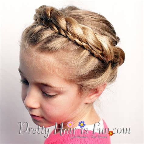 Princess Hairstyle For by Pretty Hair Is Princess Crown Braid Princess