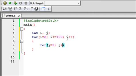 Search C C Programming Tutorial 42 Finding Prime Numbers
