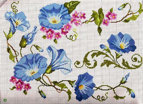 ricami fiori ricami e schemi a punto croce gratuiti schema punto croce
