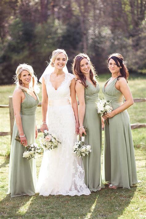 Green Bridesmaid Dress by Green Bridesmaid Dresses Wedding Ideas By Colour Chwv