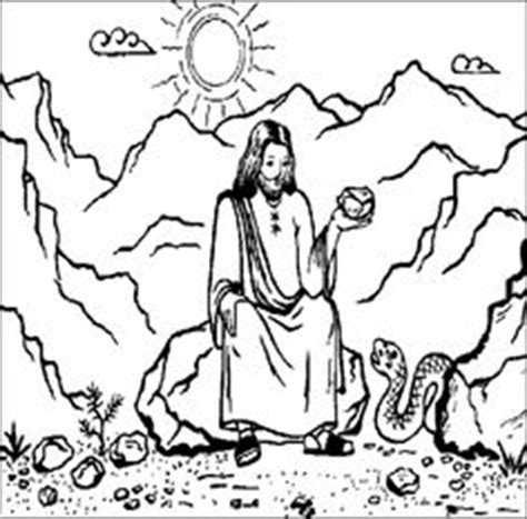 coloring pages jesus in the desert 1000 images about bible stories on axe