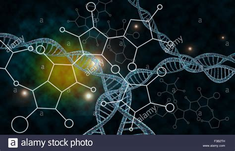 dna colors 3d dna strand with vibrant colors for genetics background