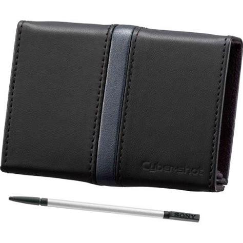 Sony Leather Lcj Rxf Black sony lcj thd b leather cover with stylus black lcj thd b b h