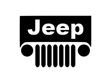Jeep Grill Decal Outdoor Vinyl Jeep Grill Sticker Jeep Decal