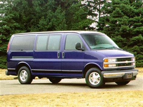 blue book value used cars 1996 chevrolet sportvan g30 auto manual 1996 chevrolet express 1500 passenger pricing ratings reviews kelley blue book