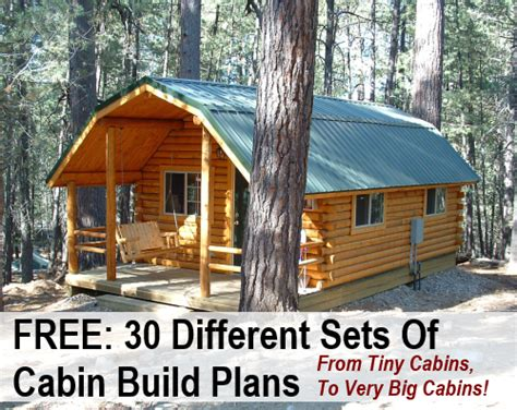 cabin building plans 30 free diy cabin blueprints diy cozy home