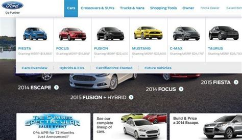 2015 ford vehicle lineup the 2015 ford mustang is no longer a future vehicle on
