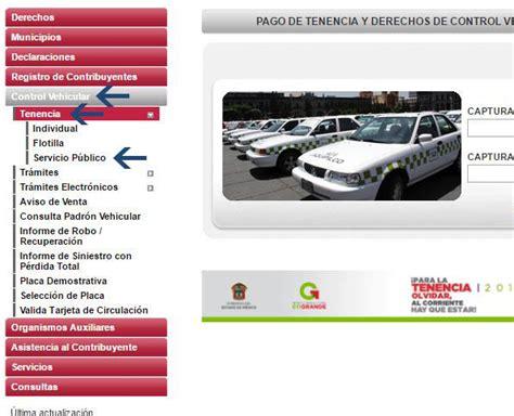 www tenecia del estado de mexico 2016 c 243 mo y d 243 nde hacer el pago de la tenencia en el estado de