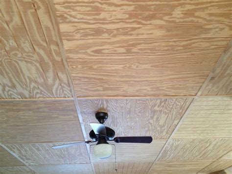 Plywood Ceiling Ideas by Inexpensive Ceiling Idea For The Home