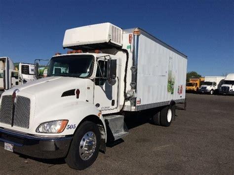 kenworth box truck kenworth van trucks box trucks in california for sale