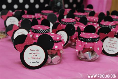 minnie mouse 1st birthday party inspiration made simple - Minnie Mouse Birthday Giveaways