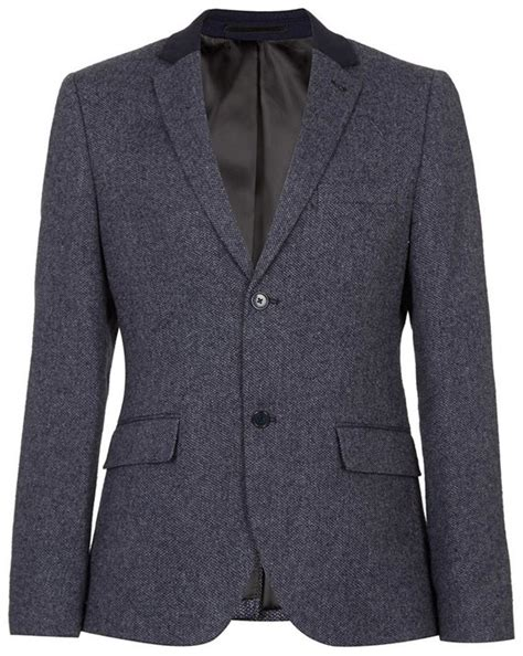 Blazer Topman Topman Tweed Blazer Where To Buy How To Wear