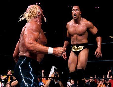 reverse wrestling wwf the rock the undertaker vs stone the greatest moments in wrestlemania history 5 hulk