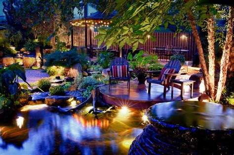 backyard paradise tropical landscape new york by