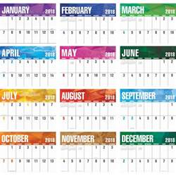 Wa School Calendar 2018 2018 Big Block Calendar 2018 Imprinted Calendars 2018