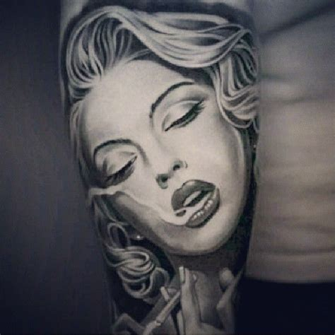 marilyn monroe tattoo designs marilynmonroe blackandwhite arm portrait tats