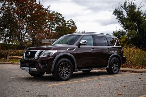 nissan armada 2017 black review 2017 nissan armada platinum canadian auto review