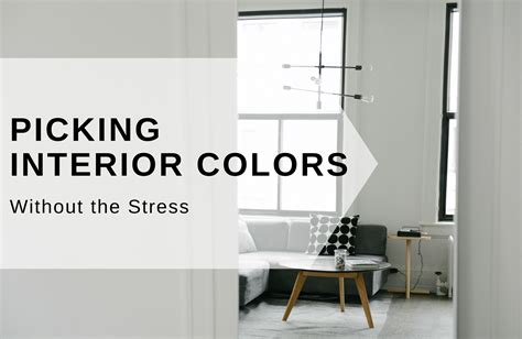how to interior paint colors without the usual stress