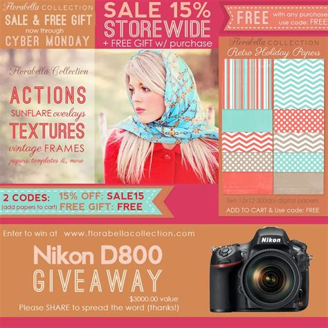 Nikon Camera Giveaway - 32 best images about florabella collection on pinterest photoshop actions actions