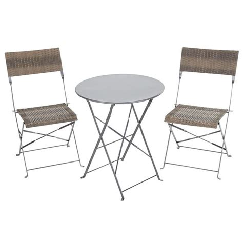 Asda Bistro Table Asda Bistro Table Cuba Balcony And Bistro Set From Asda Direct Garden Furniture Housetohome Co