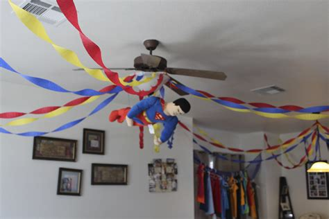 Superman Decorations by Decorations Only Once