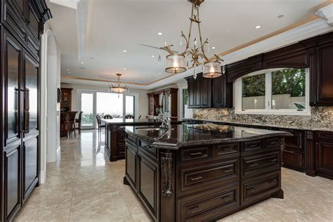 pictures of kitchens traditional dark wood kitchens 35 luxury kitchens with dark cabinets design ideas