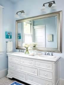 Dressers as bathroom vanities