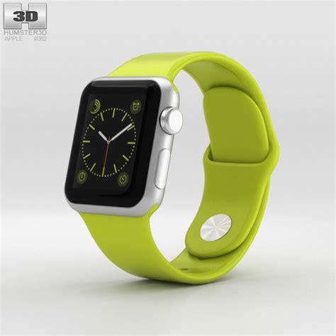 Apple Sport 38mm apple sport 38mm silver aluminum green sport