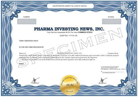 Stock Certificate Format Doc 730572 Stock Certificate Template Share Stock Certificate Attorneys Corporation Service Stock Certificate Template