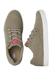 dickies shoes dickies iron lo canvas khaki shoes impericon uk