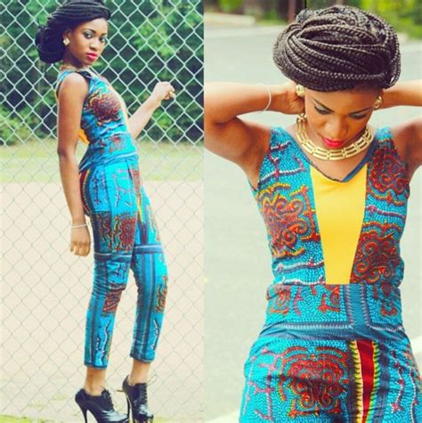 jumpsuit with ankara m a c k beauty and fashion fashion focus ankara jumpsuit