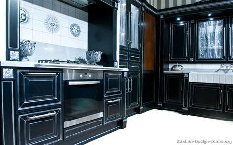 black kitchen cabinets traditional kitchen design pictures of kitchens traditional black kitchen