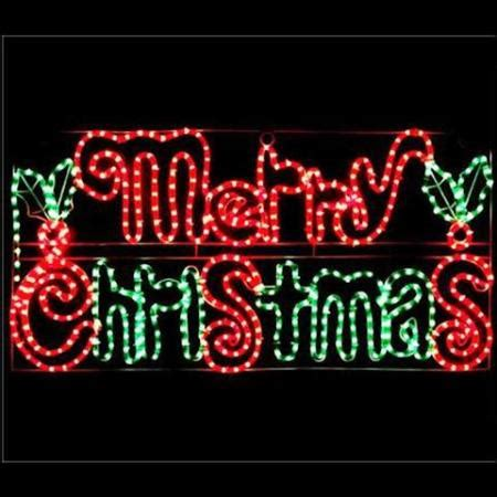 32 inch red and green led merry christmas sign outdoor led and green rope light merry motif light