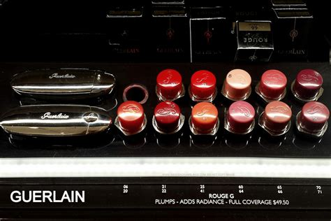 Weekend Ramblings Rouge G De Guerlain Jewel Lipstick Compact Swatches
