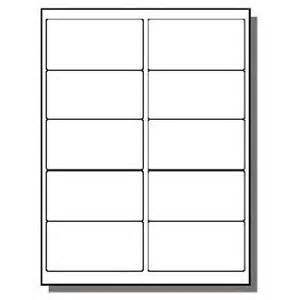 2 x 4 labels template best photos of 10 labels per sheet template avery labels