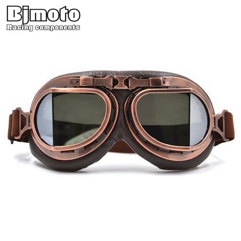 vintage motocross goggles vintage helmet motocross goggles clear steunk goggles