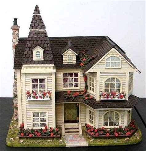 outside doll houses i like how the outside is decorated ideas for the house pinterest flower