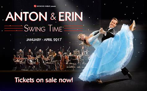 swing time musical review anton and erin swing time st david s hall by james