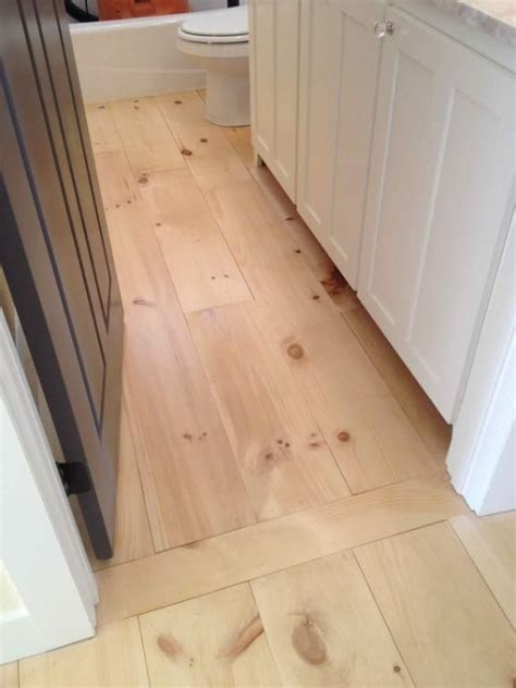 threshold between wood and tile inset same wood flooring option 2nd floor new