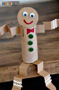 Recycle Toilet Paper Rolls Crafts - my toilet paper roll gingerbread craft is yet another
