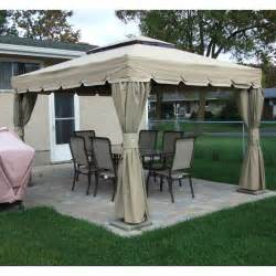 Rona Gazebo Replacement Canopy by Rona Sojag 10x12 Montego Bay Gazebo Replacement Canopy