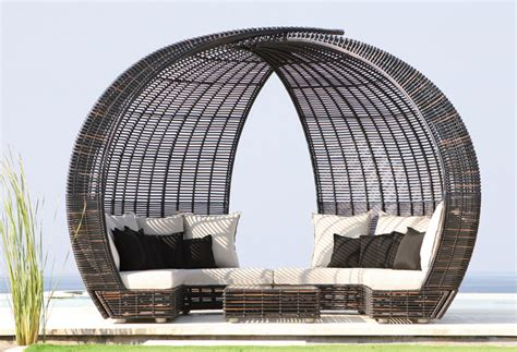 skyline design outdoor furniture occasional daybeds skyline designs spartan shade iglu