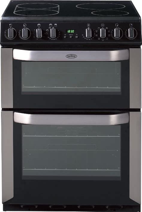 induction cooker oven buy belling fse60i stainless steel induction electric cooker oven 444449577 marks