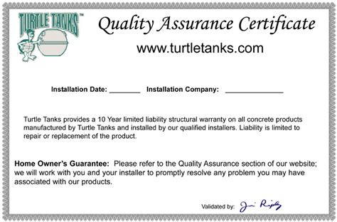 certificate of quality template branding tools