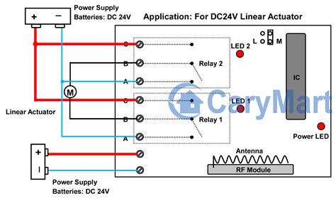 linear actuator wiring color code wiring diagram