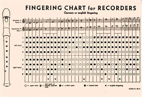 recorder finger chart recorder chart 4 steps to master the