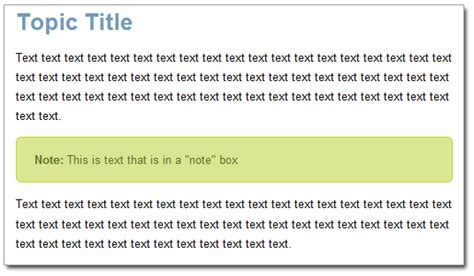 css making notes css tip creating tip or note boxes without a div or table